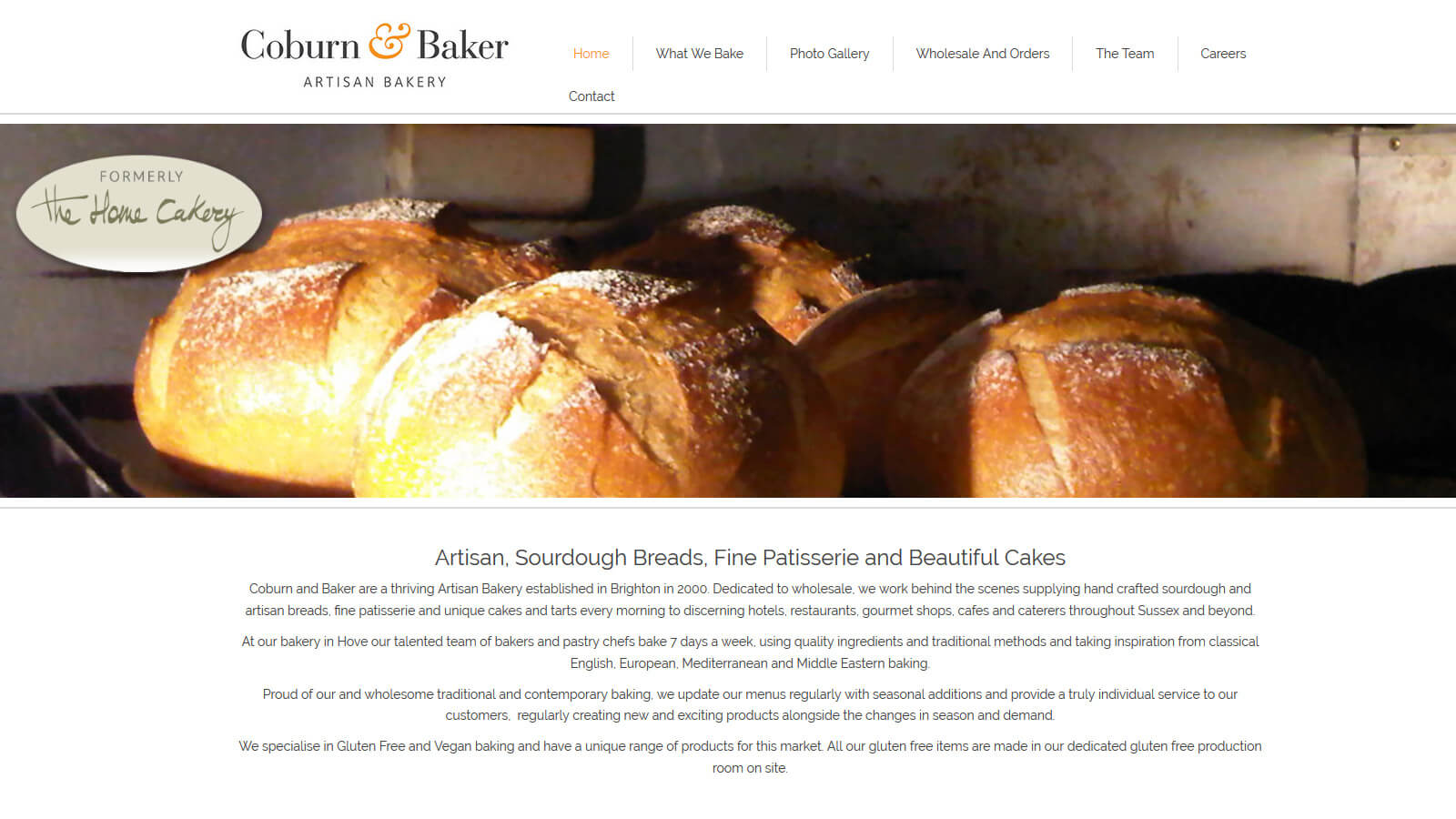 website design coburn and baker