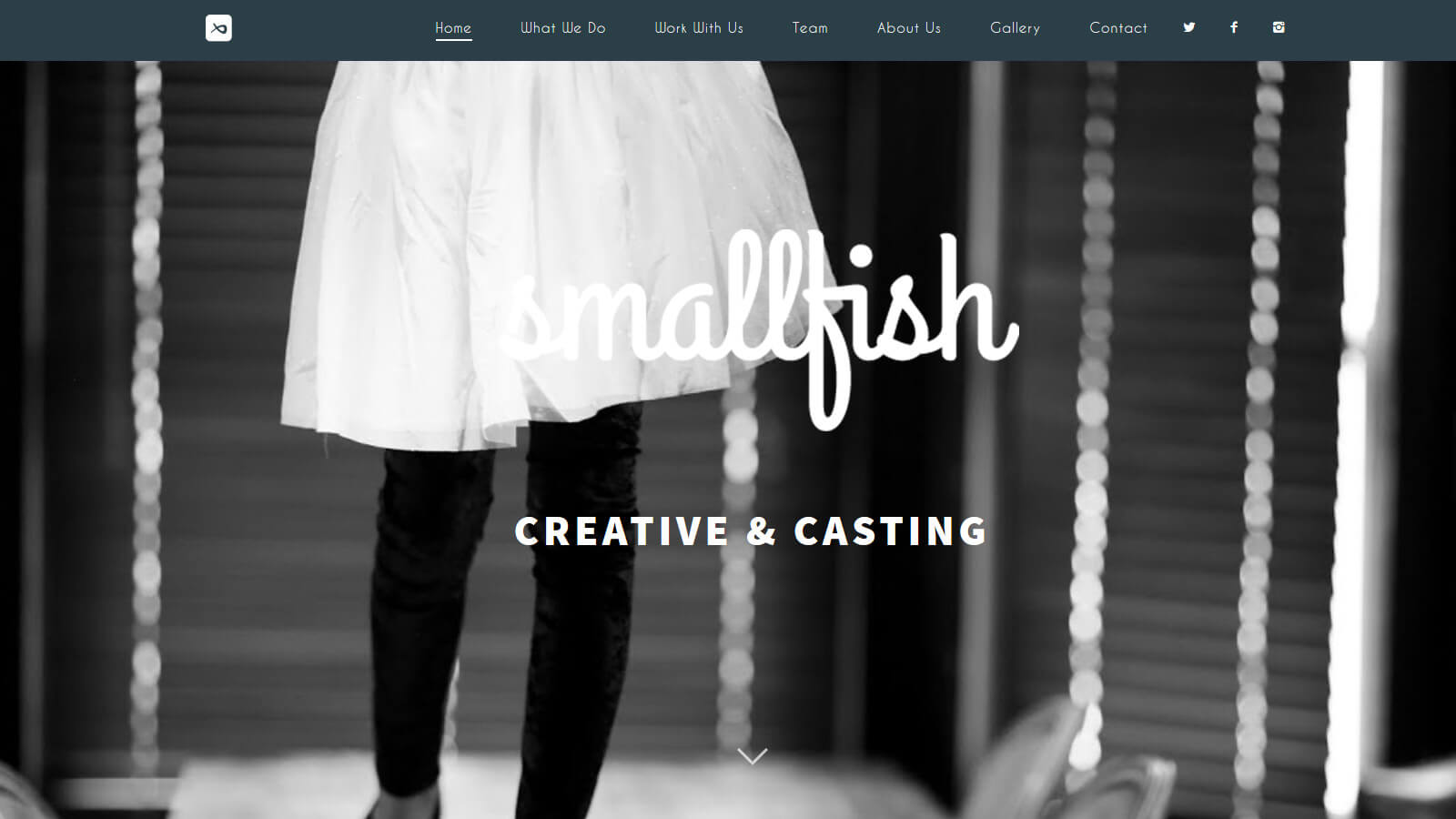 website design smallfish creative