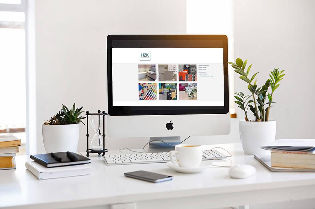 HZK Interiors - Website